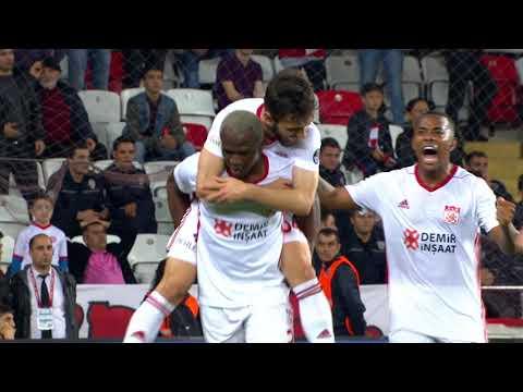 Antalyaspor 1 - 4 DG Sivasspor #Özet
