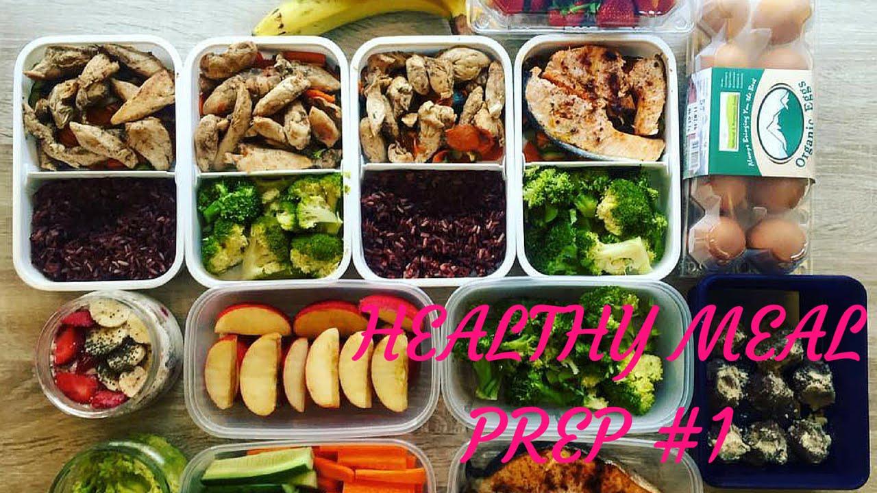 Come Organizzare I Pasti Settimanali meal prep healthy food #1 | preparazione pasti per una dieta sana e  bilanciata