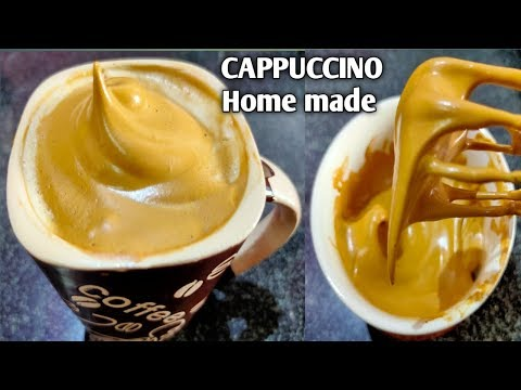 how-to-make-indian-cappuccino-at-home-easily-|-no-coffee-machine-|-only-3-ingredients-cappuccino