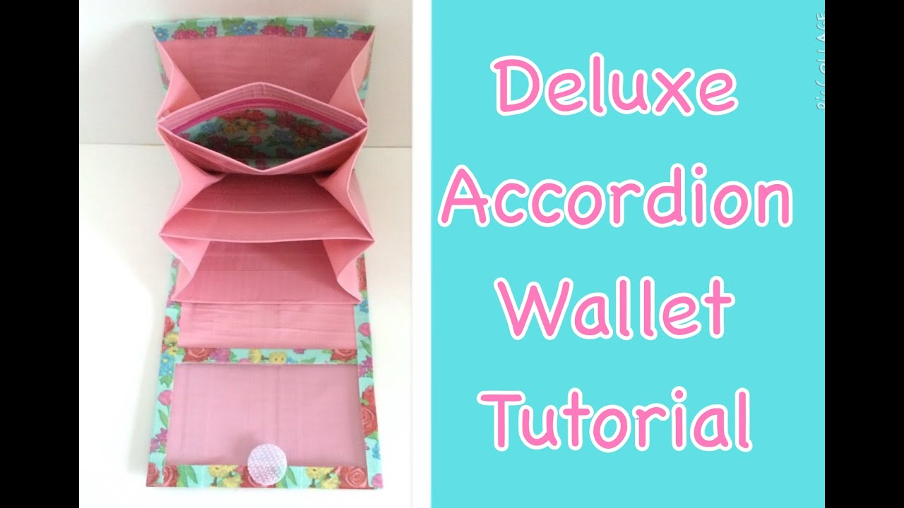 Tutorial How To Make A Duct Tape Deluxe Accordion Wallet Youtube