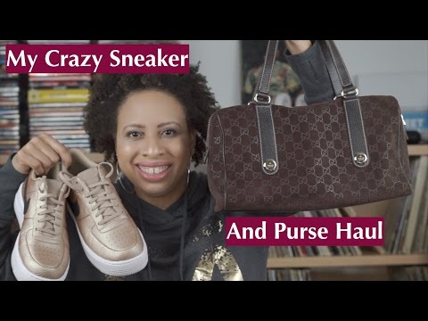 My Crazy Sneaker and Purse Haul   NaturallyStacey