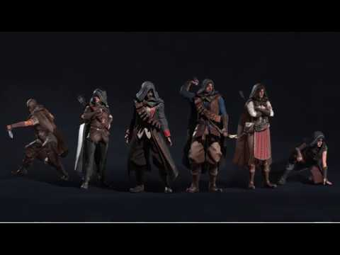 Assassins Playset - PBR Characters for Unreal, Unity, & iClone