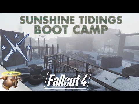 SUNSHINE TIDINGS CO-OP BOOT CAMP: Huge, realistic #Fallout 4 custom #settlement!