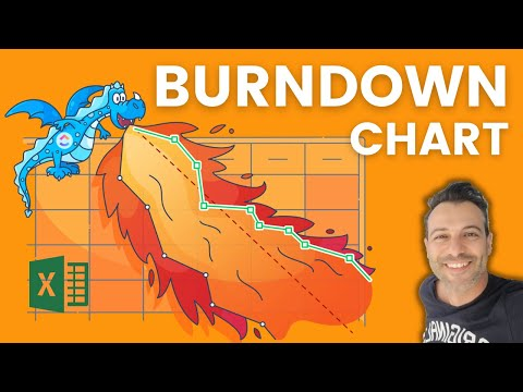 How To Create An Excel BurnDown Chart In Simple Steps
