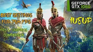 ASSASSIN'S CREED ODYSSEY GAMEPLAY GTX 1060 FPS AND BEST SETTINGS GUIDE