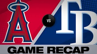 Rays score 2 in the 8th to ward off Angels | Angels-Rays Game Highlights 6/16/19
