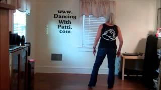 Basic Steps:  Jazz Box, Kick Ball Change, Rocking Chair, Kick and Point