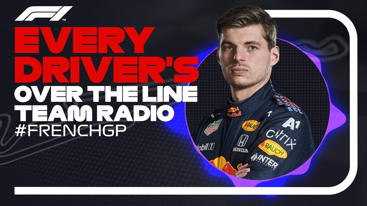 Every Driver's Radio At The End Of Their Race | 2021 French Grand Prix
