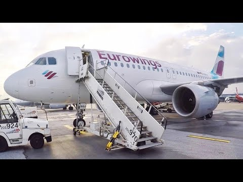 TRIP REPORT- Eurowings A319 Dusseldorf to Zurich (Economy)