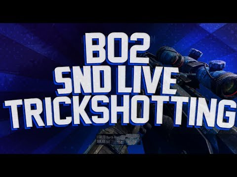 Trif: Crazy 1800 Carrier Sui Hitmarker! BO2 SND Live Trickshotting #4 (6 Insane Shots)