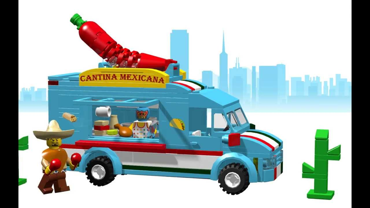 Custom Lego Food Truck