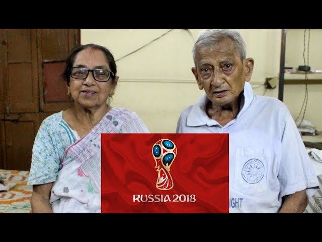 10th FIFA World Cup Outing For Pannalal Chatterjee and Chaitali Chatterjee