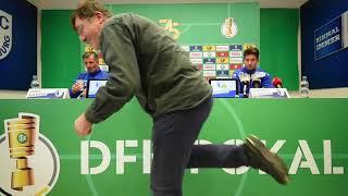 Pressekonferenz vor dem Spiel 1. FC Magdeburg gegen Borussia Dortmund