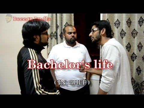 Bachelors life ( In gulf) funny | hyderabadi comedy | Deccan Drollz