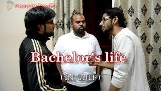 Bachelors life ( In gulf) funny | hyderabadi comedy | Deccan Drollz