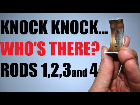 Rod knock - how to check and deal with it