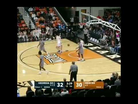 Was It A Travel Or Punk Fake? Guard David Jones Jr Georgia Southern Vs Mercer Basketball