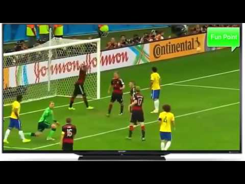 Brazil vs Germany FIFA World Cup 2014-English Comentry Highlights