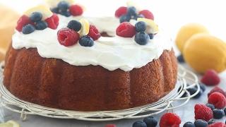 Greek Yogurt Lemon Bundt Cake Recipe