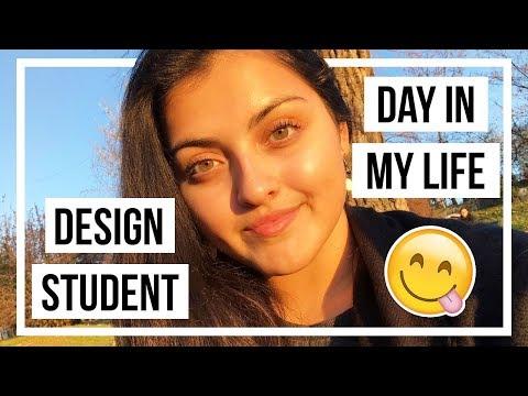 DAY IN MY LIFE • Design Student in Prague • Adri Mendez