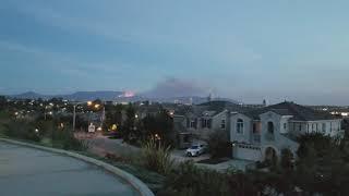 Incendio en Thousand Oaks, Ca