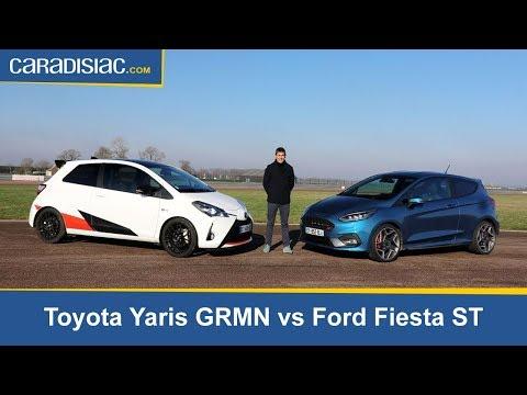 Comparatif Ford Fiesta St Vs Toyota Yaris Grmn Par Ayari
