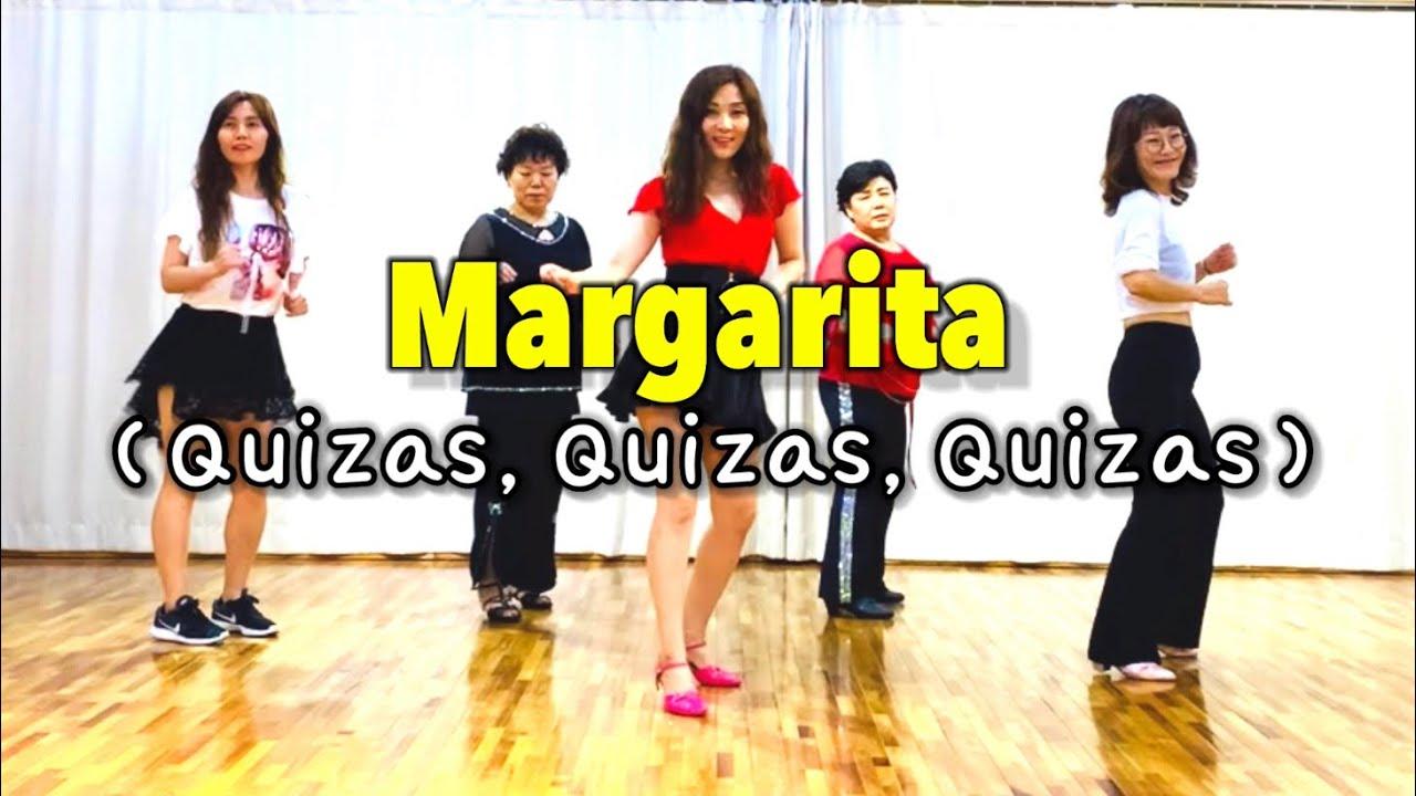 Margarita(Quizas,Quizas,Quizas)line dance(Easy Beginner)마가리타,키사스💞아름다운시작 쥬얼라인💎