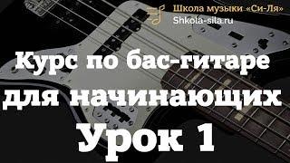 Как научиться играть на бас-гитаре самостоятельно. Уроки бас-гитары для новичков и с нуля.