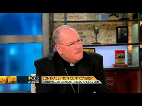 Cardinal-designate on contraception controversy