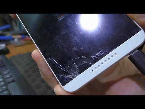 Разбит тачскрин / Замена модуля дисплея. Смартфон HTC Desire D816h