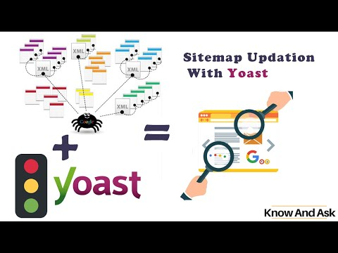 Step's To Update XML Sitemap For WordPress Using Yoast SEO Plugin L Knowandask