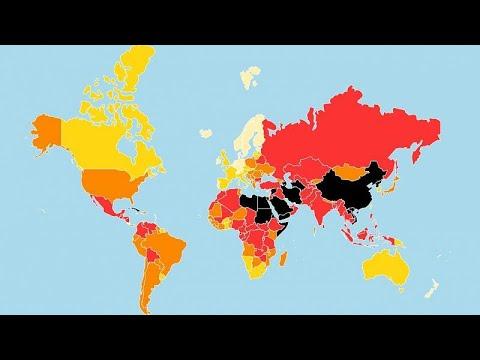 Há cada vez menos países seguros para jornalistas