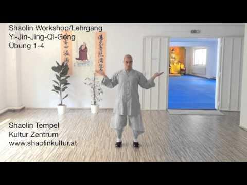 Shaolin Workshop/Lehrgang Yi-Jin-Jing Qi Gong Übung 1-4
