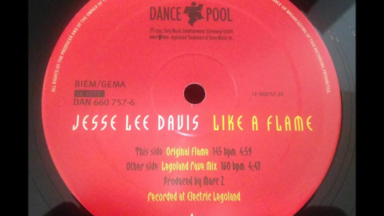 Jesse Lee Davis - Like A Flame