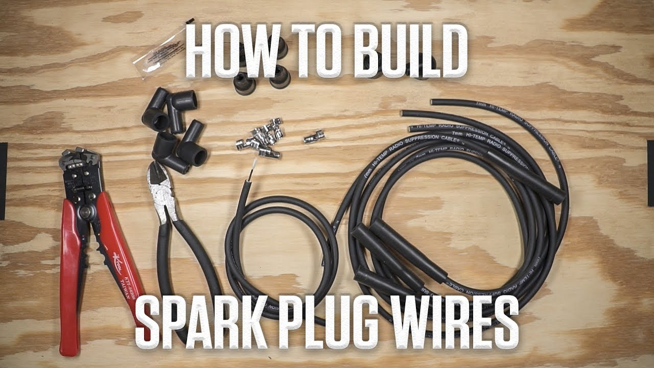 medium resolution of diy how to build spark plug wires