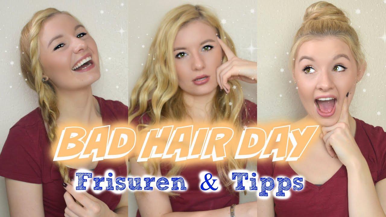 Schnelle Einfach Frisuren Für Einen Bad Hair Day Tipps Youtube