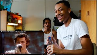 Harry Styles - Falling (Live From The BRIT Awards, London 2020) [REACTION!] | Raw&UnChuck