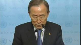 Secretary-General Ban Ki-moon on Haiti