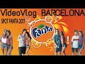 Vlog BARCELONA - SPOT FANTA 2017 con ElRubius, Mangel, aLexBY y Paula Gonu
