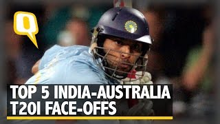 Yuvraj's Blitz, Ashwin's Heroics: Top 5 India-Aus T20I Face-Offs | The Quint