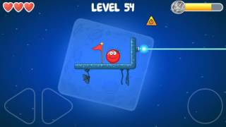 RED BALL 4 - chapter 4 - Battle for the MOON all levels 46-60 + 4th final BOSS battle