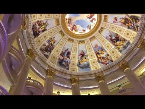 Adeyto LIVE inside the Parisian Hotel Casino in Macau