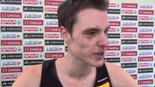 Koen Naert (BEL) after participating in the men's U23 race