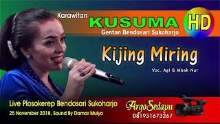 Sinden BULE Parikan Lucu KIJING MIRING (HD) Aggy feat Nur Handayani