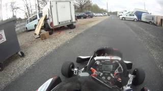vidéo caméra Gopro Karting vs Handikart 125 Rotax - Sigma S2 - Circuit Salbris
