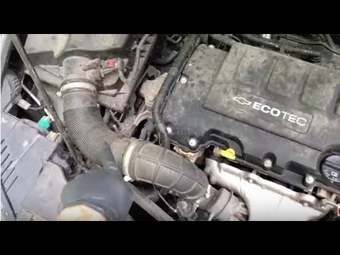 How to replace Chevy Cruze Thermostat - FAST & EASY! - Malibu/Impalla