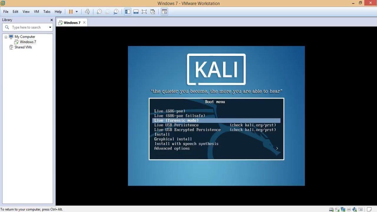 Hướng Dẫn Cách Cài Đặt KaLi Linux Song Song Windows | Phần 2: Cài Đặt Kali Linux