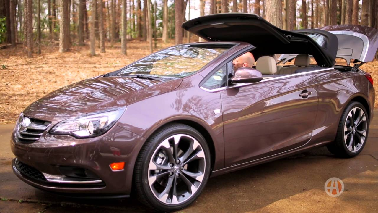 2016 Buick Cascada | Real World Review | Autotrader - YouTube