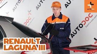 Ako vymeniť Stieracia liżta RENAULT LAGUNA III Grandtour (KT0/1) - online zadarmo video