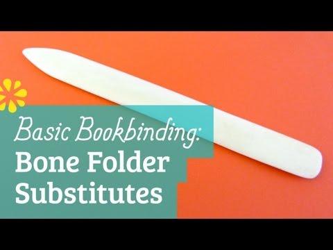 Bookbinding Bone Folder Substitutes | Sea Lemon